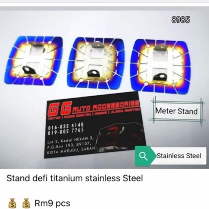 Defi Stand And AutoMeter Ring