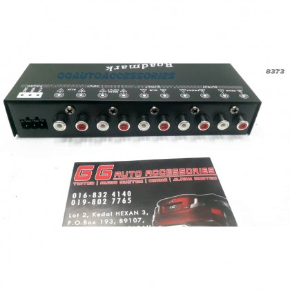 4-BAND PARAMETRIC EQUALIZER WITH SUBWOOFER OUTPUT
