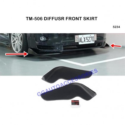 Diffuser Front Skirt Universal