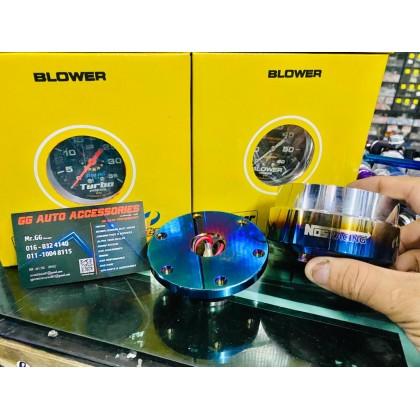 Bos Kit Adapter Quick Release Titanium Nos
